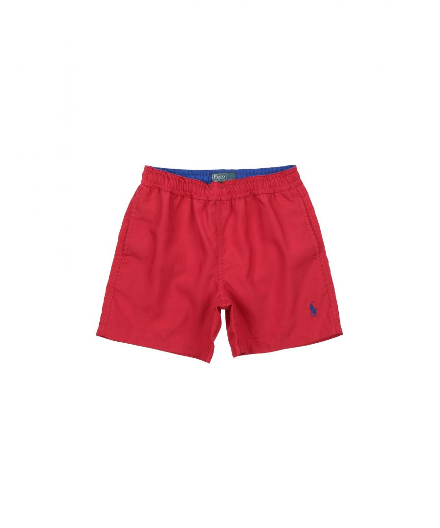 Image for SWIMWEAR Boy Ralph Lauren Red Polyester
