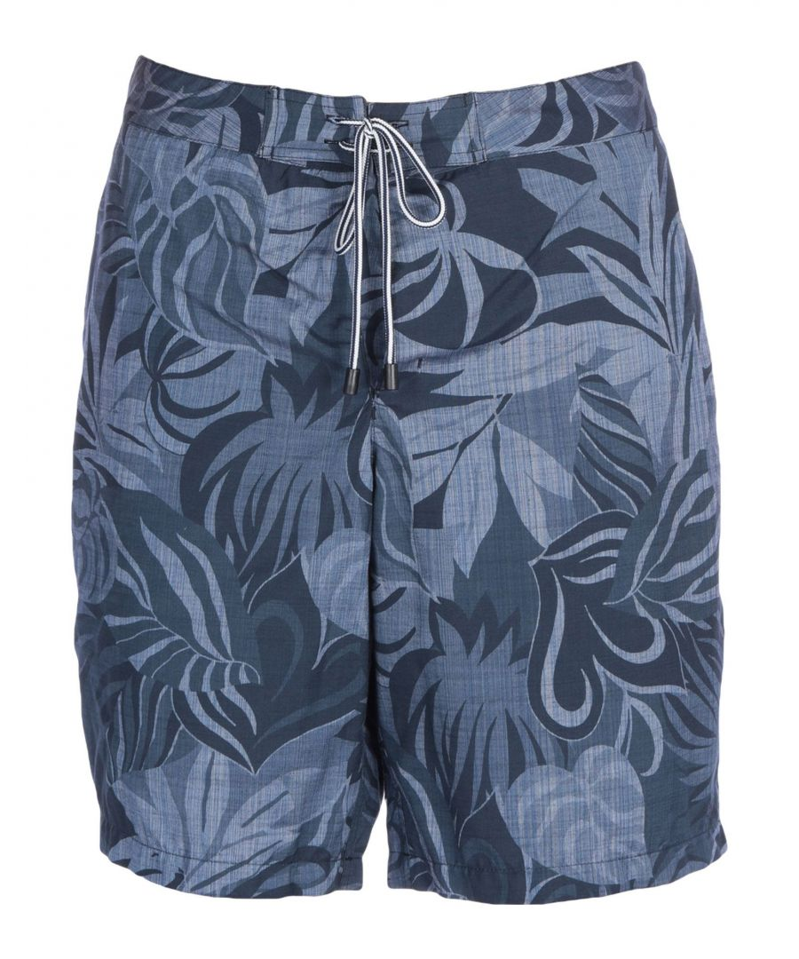 Image for Fay Dark Blue Swim Shorts