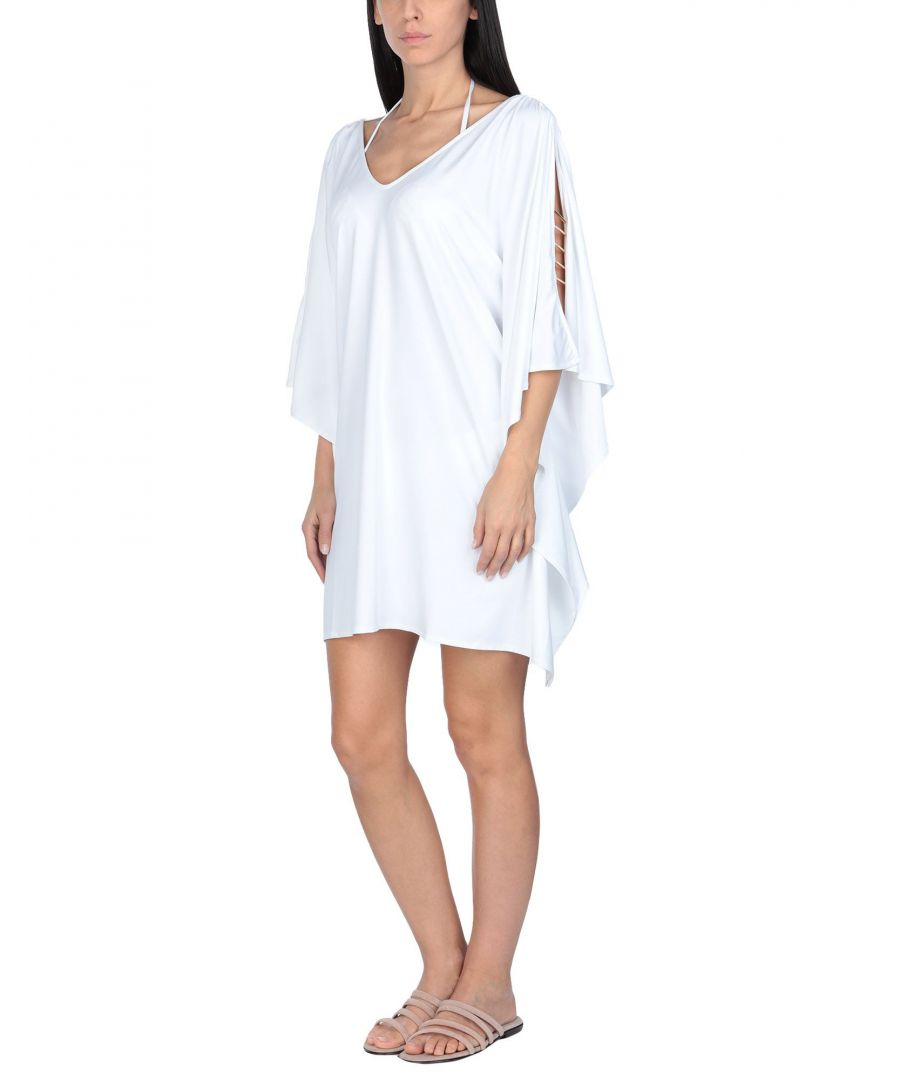 Image for Christies White Jersey Beach Cover Up