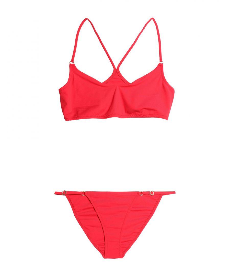Image for Melissa Odabash Red Racerback Bikini Set