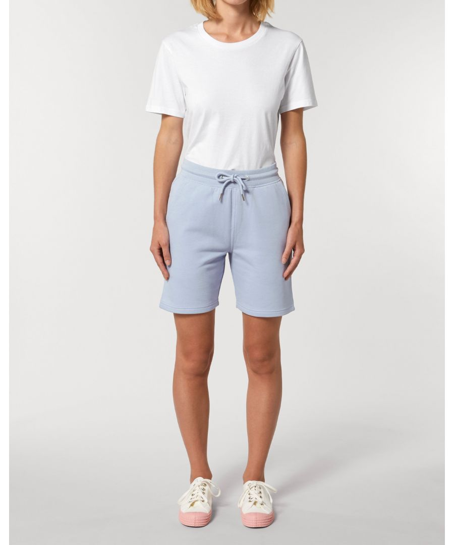 Image for Vayu Unisex Jogger Shorts in Blue