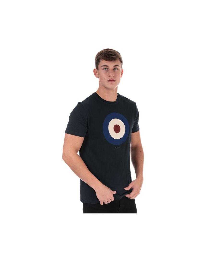 Image for Men's Ben Sherman The Target T-Shirt in Navy