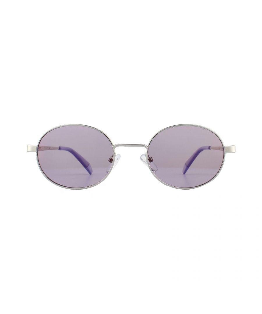 Image for Polaroid Sunglasses PLD 6066/S B6E A2 Lilac Silver Lilac Polarized