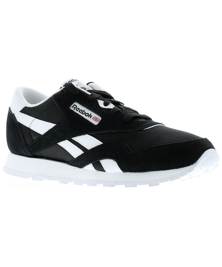 Image for Boys Nylon Upper Trainers By Reebok With Suede Overlays For Breathable Support Low Cut Design For In