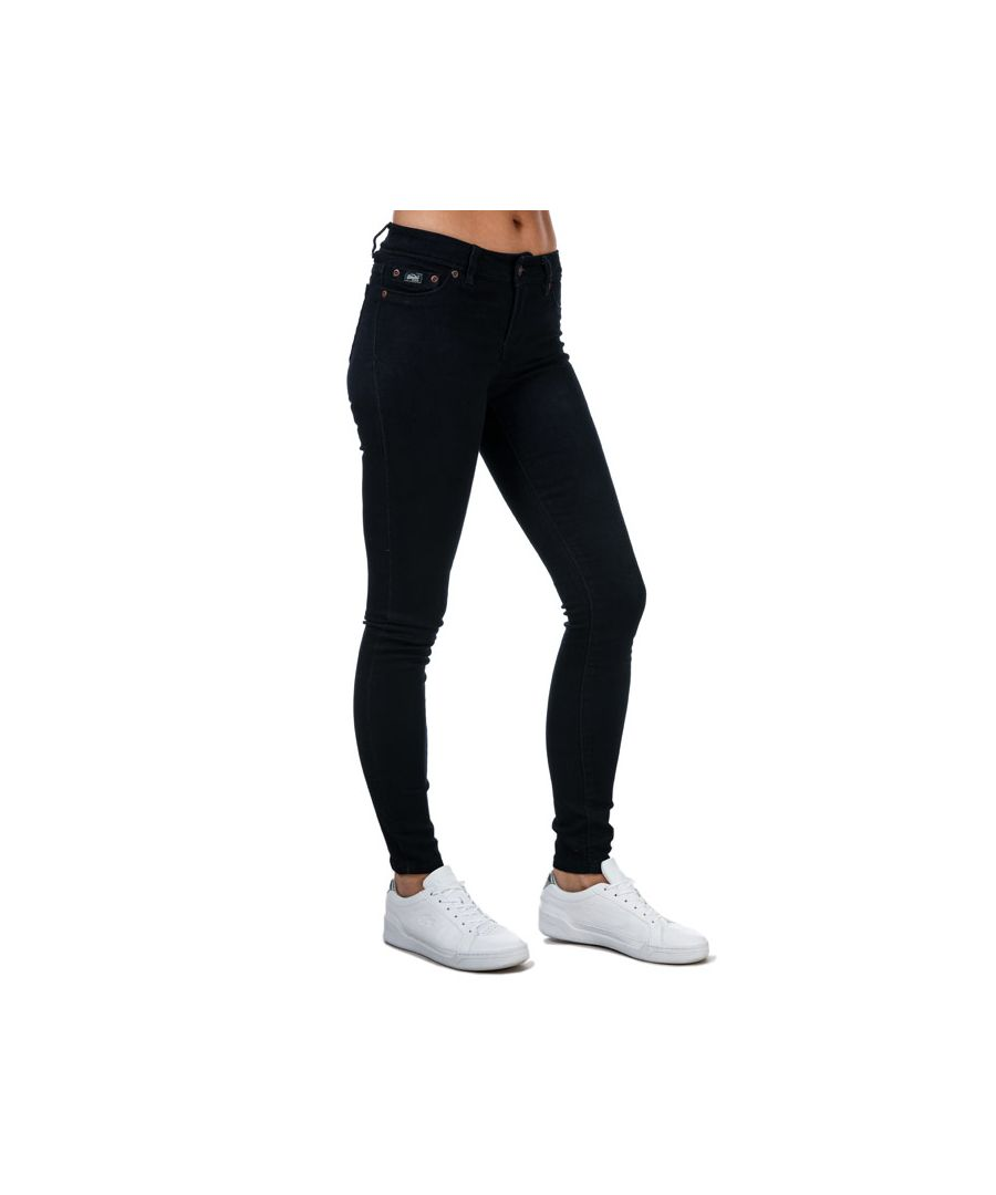 Image for Women's Superdry Alexia Jeggings in Denim