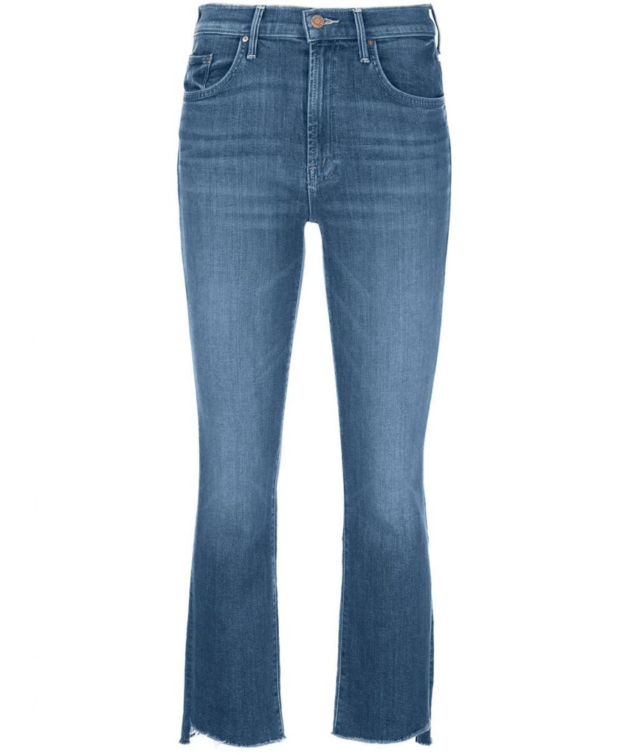 Image for MOTHER WOMEN'S 1157781WIE BLUE COTTON JEANS