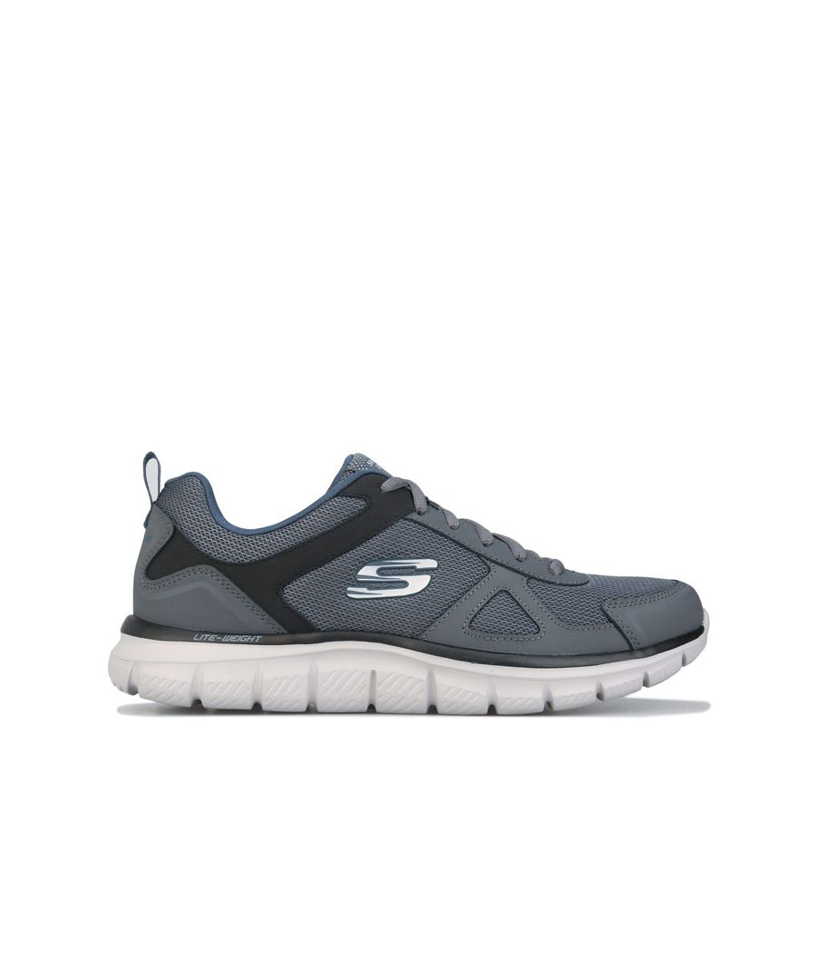 Image for Men's Skechers Track Scloric Trainers In Grey