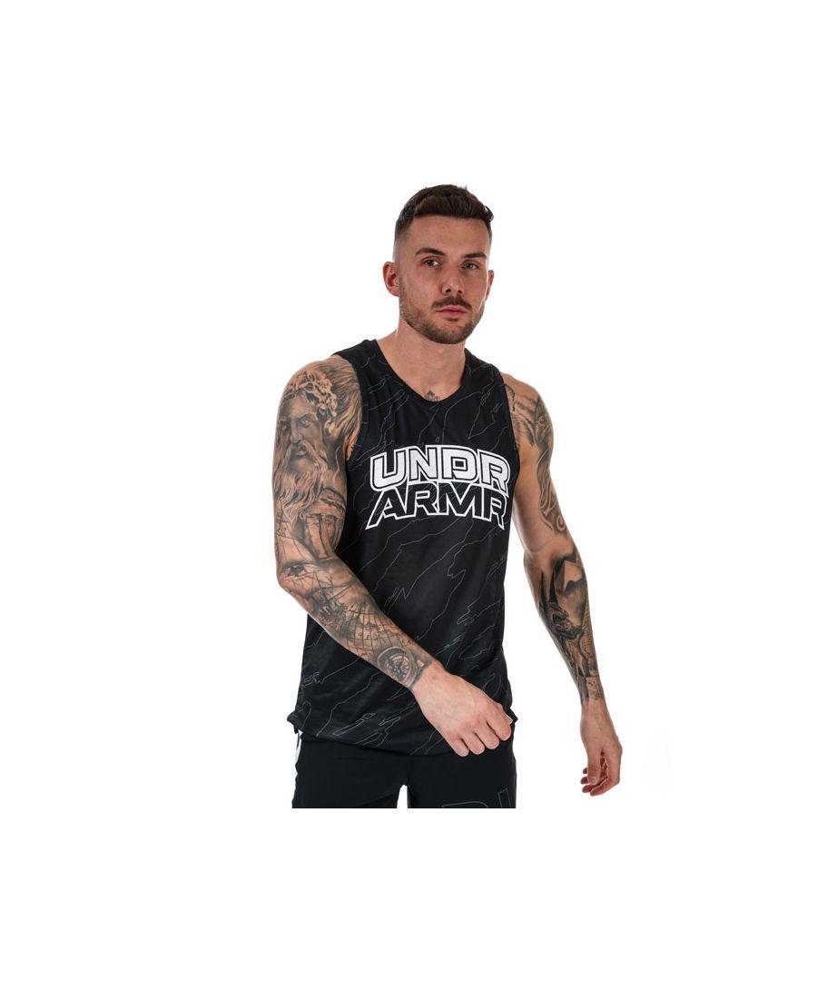 Image for Men's Under Armour Futures Retro Vest in Black
