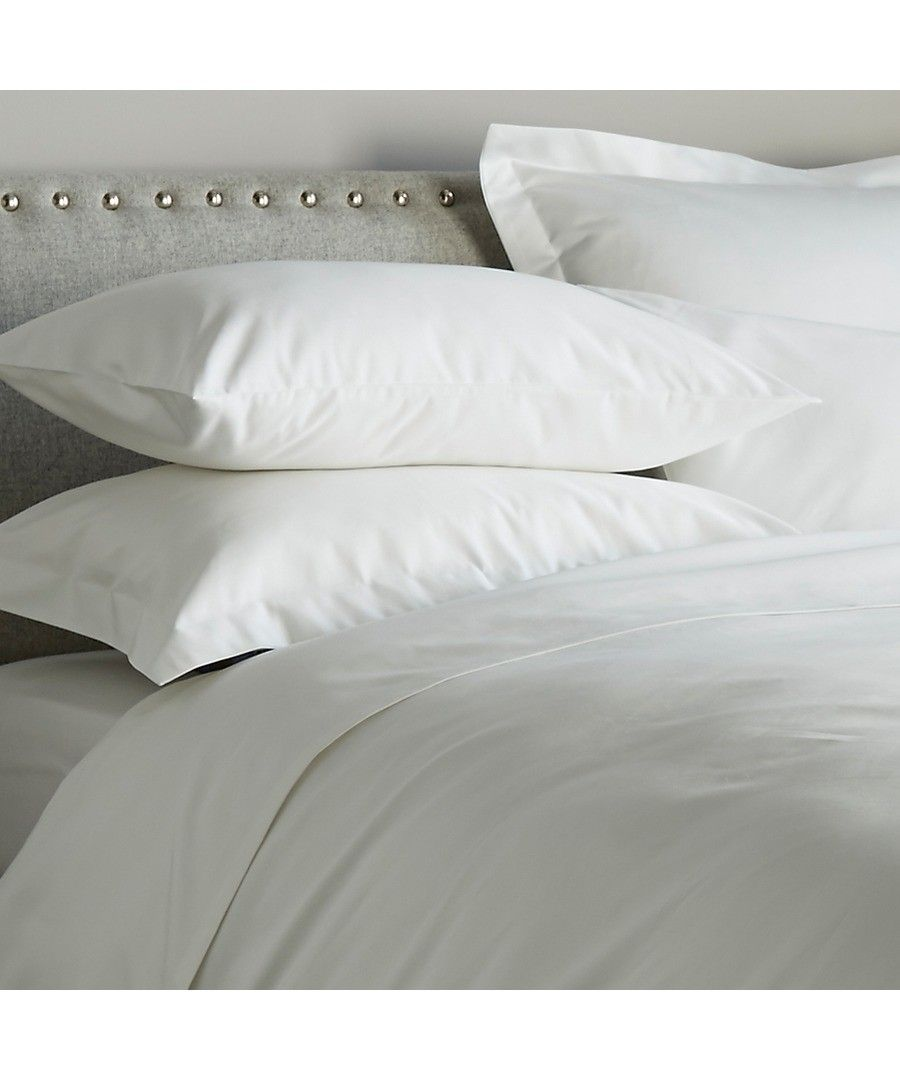 Image for 600 Thread Count Fitted Sheet - White