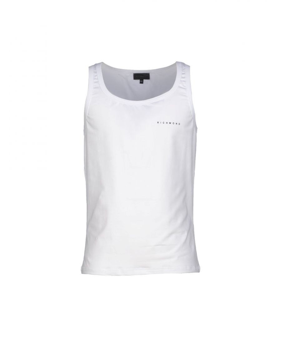 Image for John Richmond Underwear White Cotton Tank
