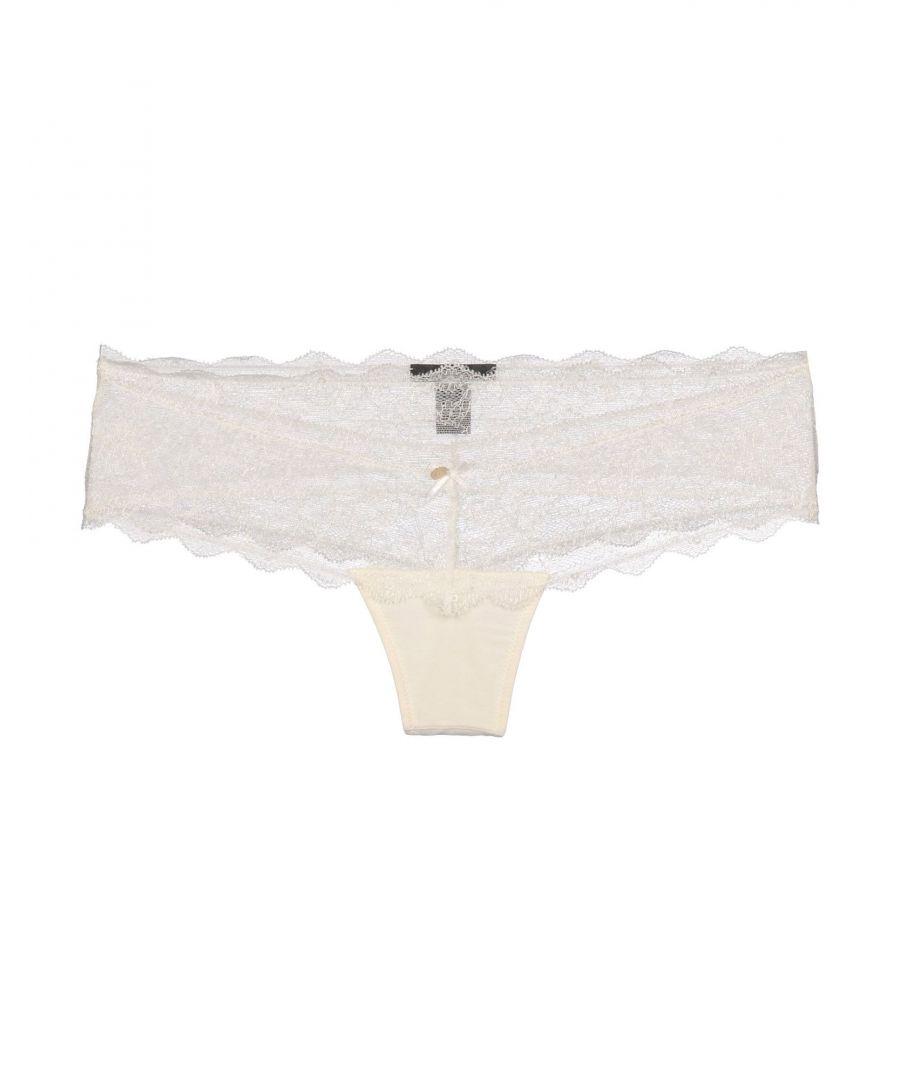 Image for John Richmond Underwear Ivory Lace Shorts