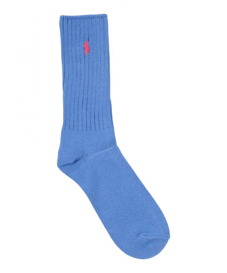 Image for Polo Ralph Lauren Blue Cotton Socks