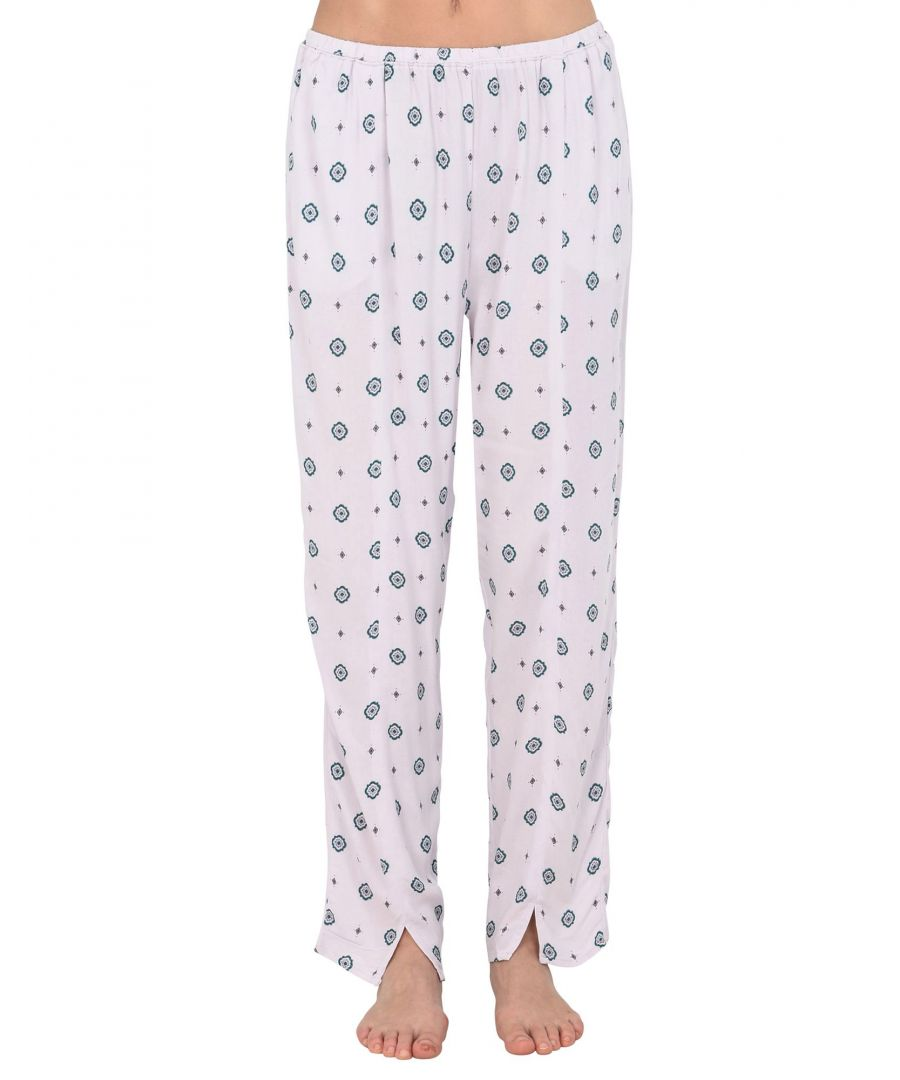 Image for Free People Light Pink Multicolour Pattern Pyjama Bottoms