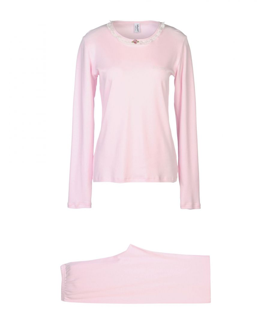 Image for Blugirl Blumarine Pink Cotton Pyjama Set