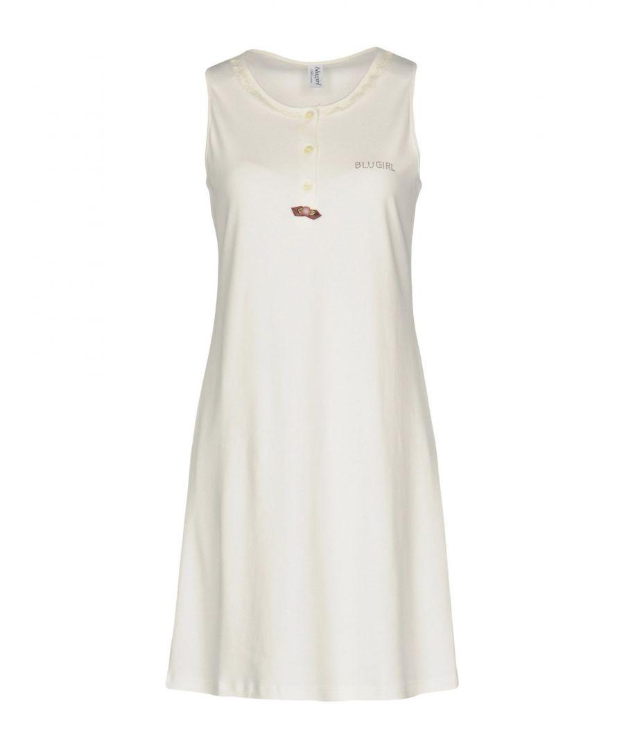 Image for Blugirl Blumarine White Cotton Nightdress
