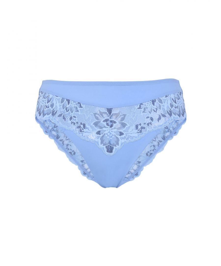 Image for Triumph Sky Blue Lace Briefs