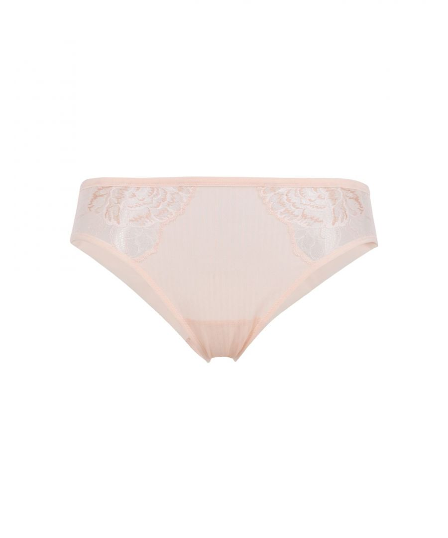 Image for Triumph Light Pink Tulle And Lace Briefs