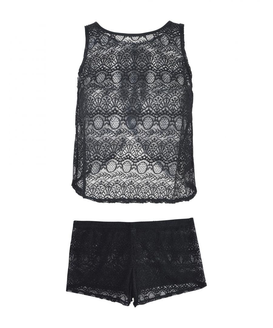 Image for Bluebella Black Lace Pyjama Set