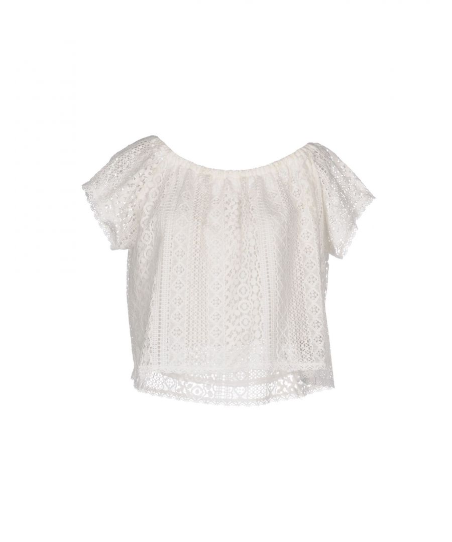 Image for Vivis Ivory Lace Top