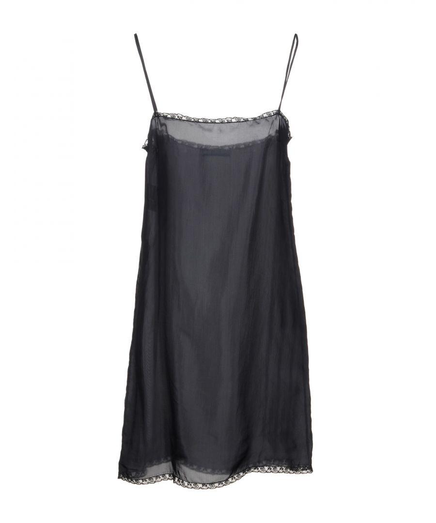 Image for Prada Black Lace Slip Dress