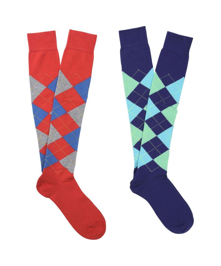 Image for Burlington Purple Cotton Knit Socks Set Of Two