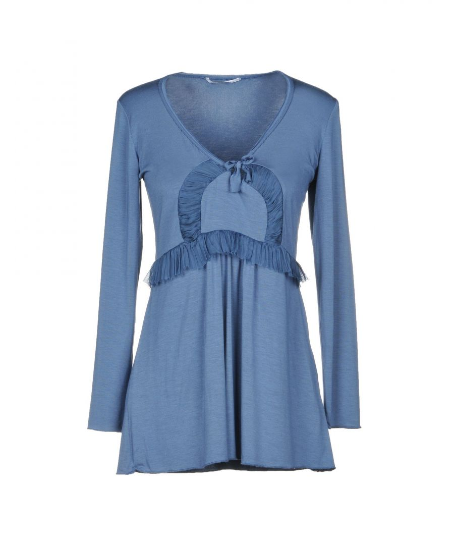 Image for Grazia'Lliani Pastel Blue Modal Nightdress