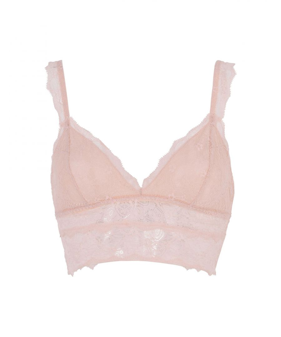 Image for Eberjey Light Pink Lace Soft Cup Bra