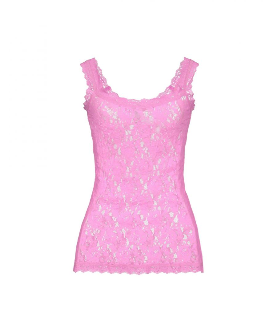 Image for Hanky Panky Signature Lace Classic Pink Camisole