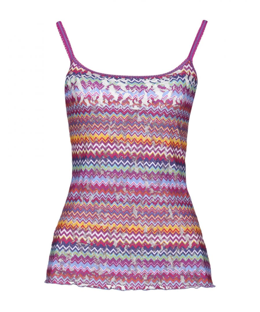 Image for Hanky Panky Purple Stripe Stretch Lace Camisole