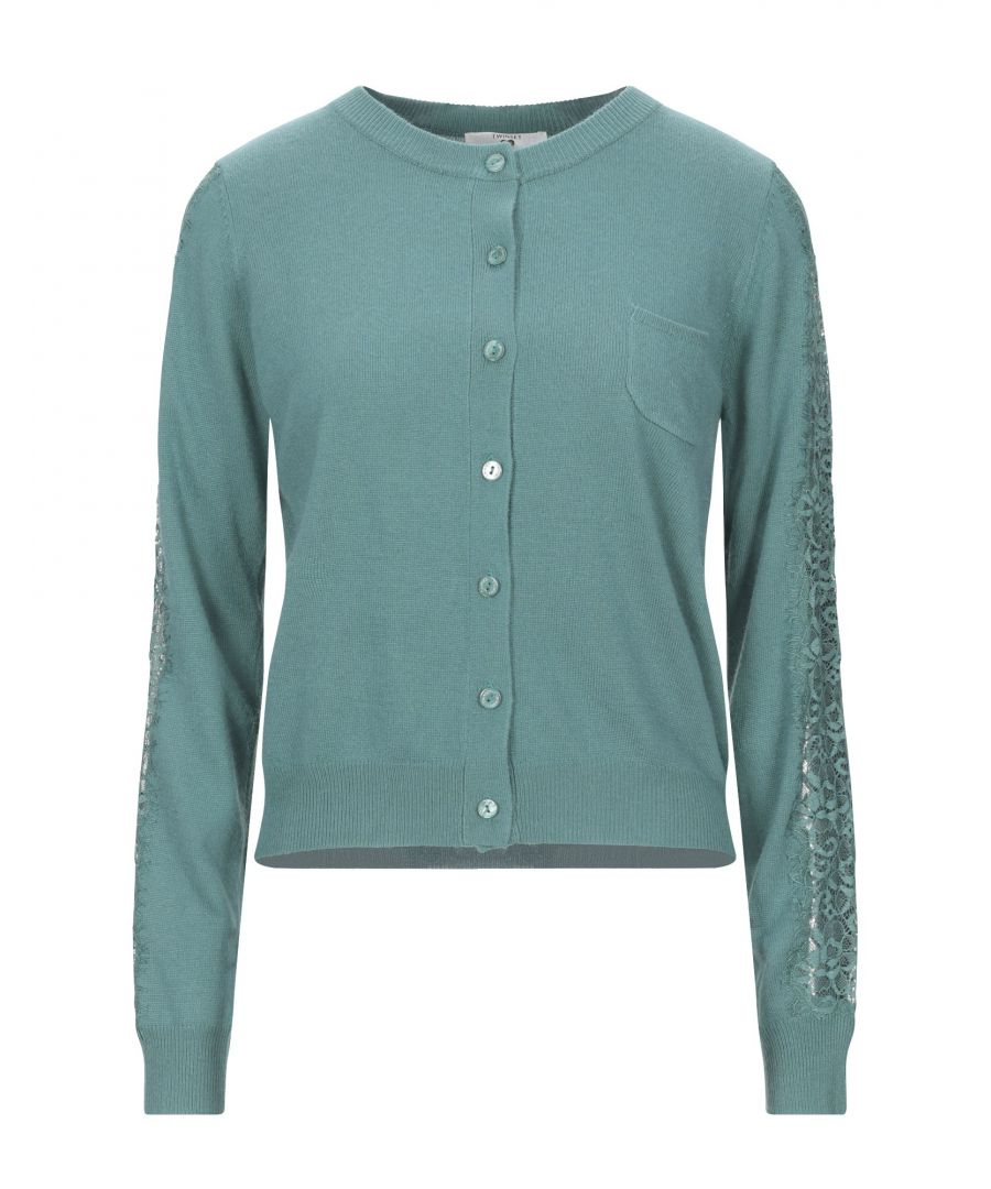 Image for Twinset Underwear Green Knit Lounge Cardigan