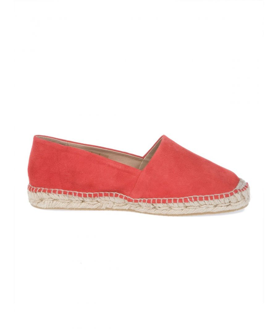 Image for LIVIANA CONTI WOMEN'S L5EY81407 RED FABRIC ESPADRILLES
