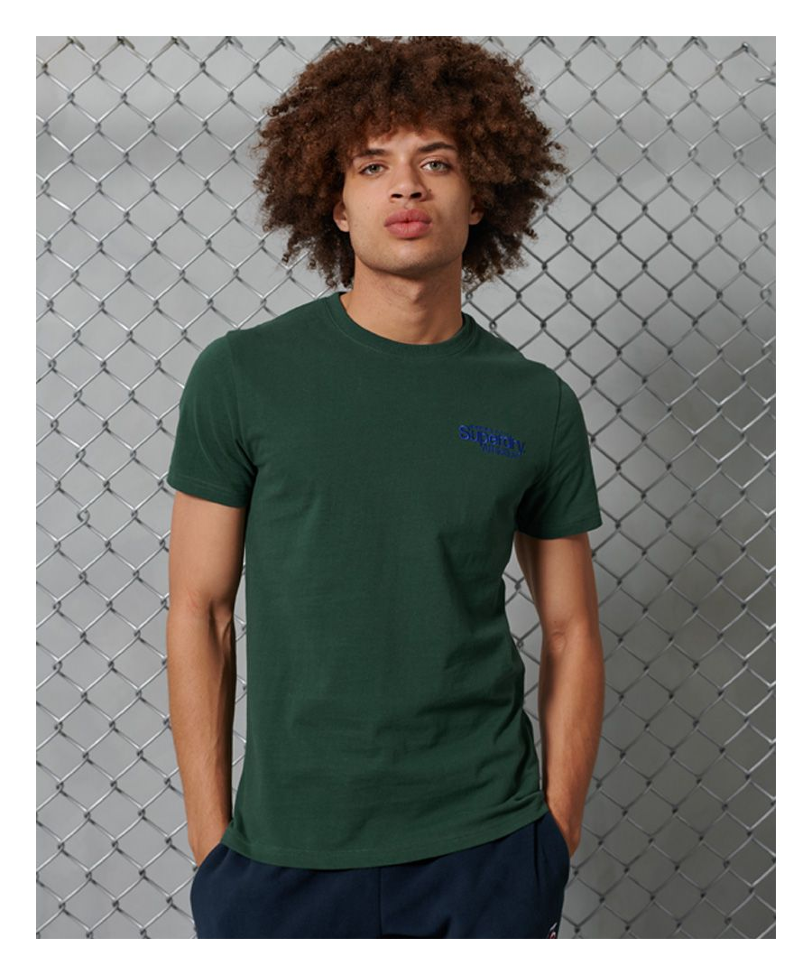 Image for Superdry Core Logo Athletics Micro T-Shirt