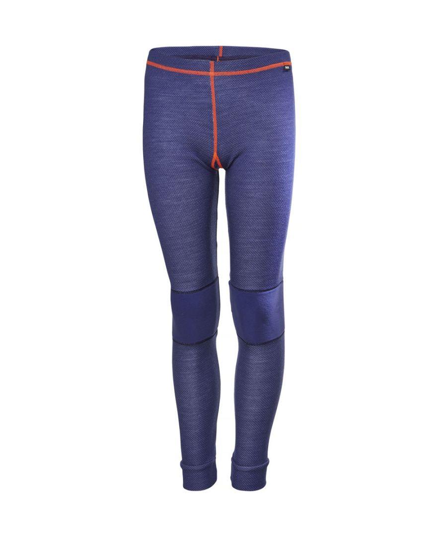 Image for Helly Hansen Boys & Girls Lifa Merino Wool Baselayer Ski Trousers