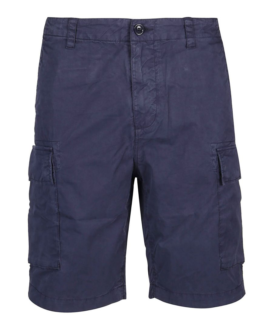 Image for WOOLRICH MEN'S WOSH0012MRUT21363496 BLUE COTTON SHORTS