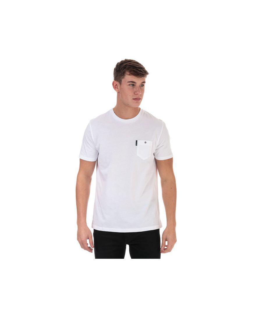 Image for Men's Ben Sherman Spade Pocket T-Shirt in White