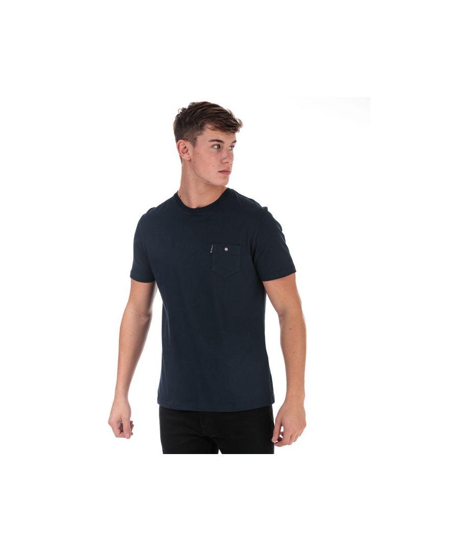 Image for Men's Ben Sherman Spade Pocket T-Shirt in Navy