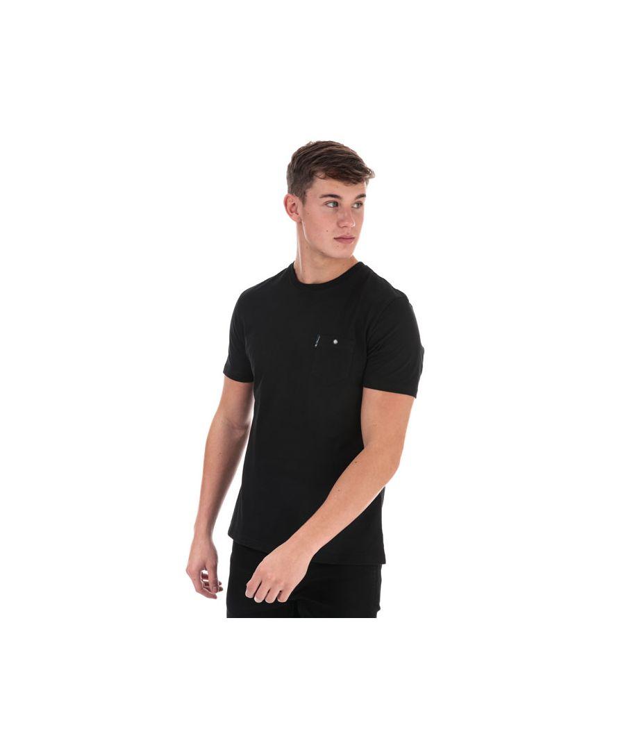 Image for Men's Ben Sherman Spade Pocket T-Shirt in Black