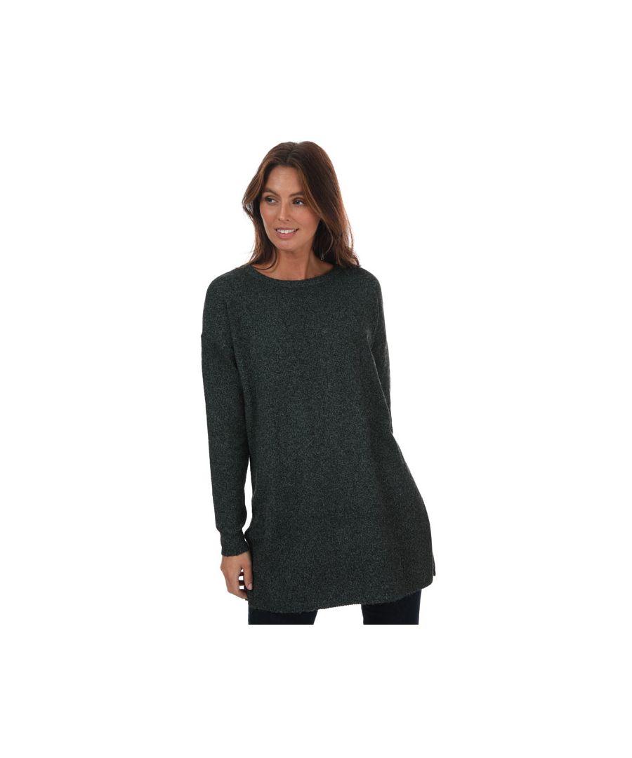Image for Women's Vero Moda Brilliant Longline Jumper in Black