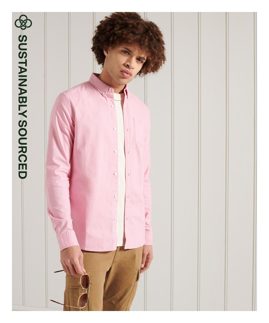 Image for Superdry Organic Cotton Classic University Oxford Shirt