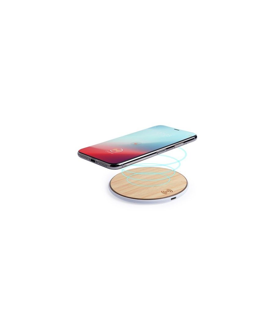 Image for Qi Wireless Charger for Smartphones USB Bamboo 146182