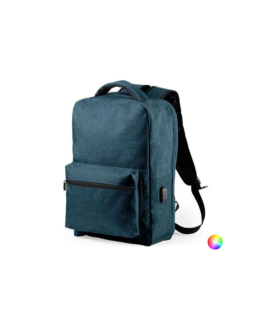 Image for Anti-theft Rucksack with USB and Tablet and Laptop Compartment 146345