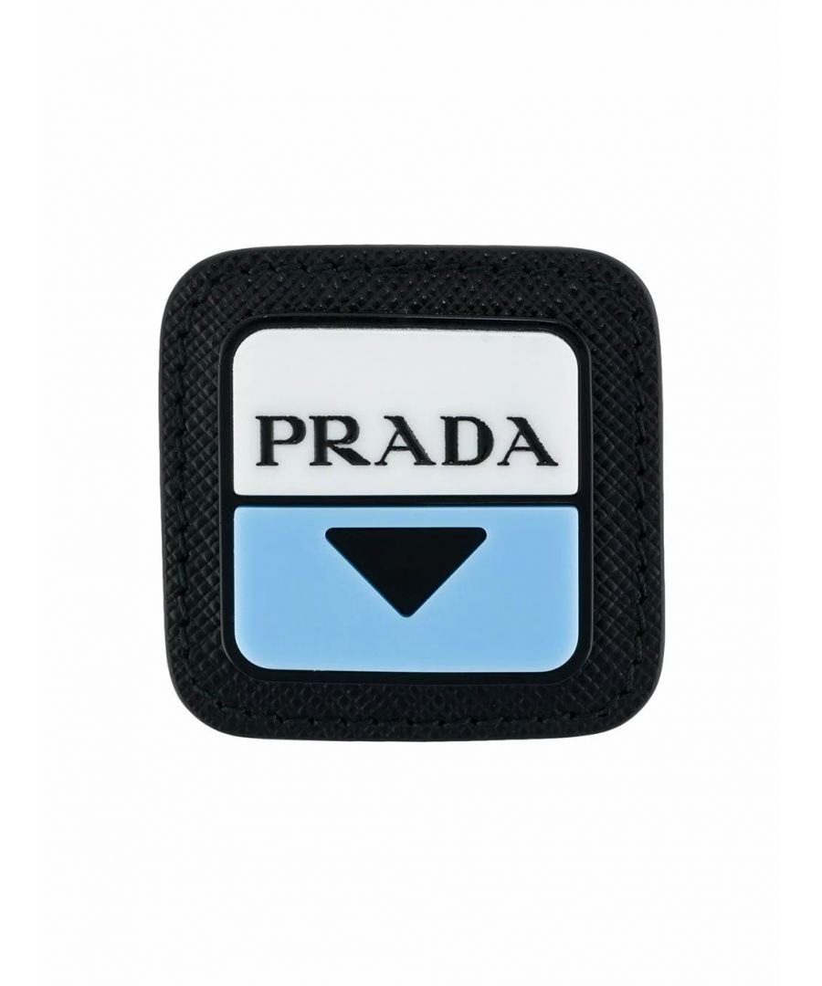 Image for PRADA MEN'S 2IS0582DFHF0237 BLACK LEATHER PIN