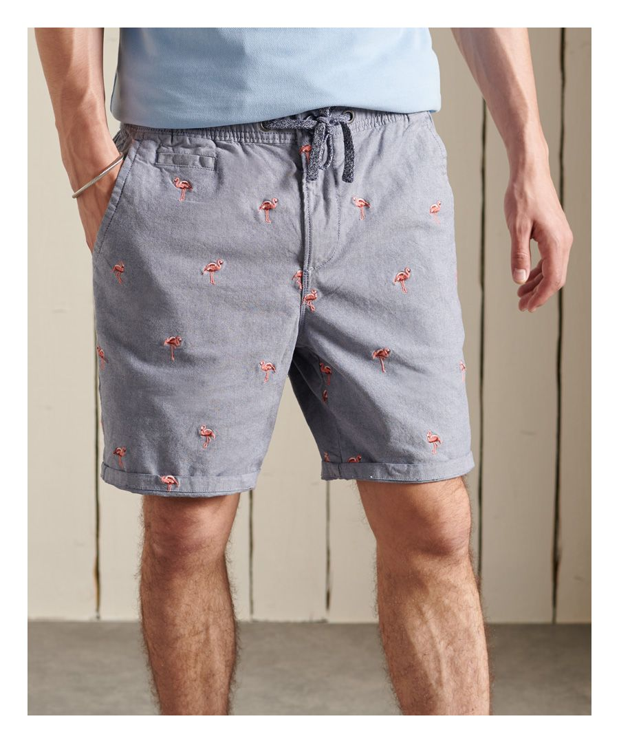 Image for SUPERDRY Sunscorched All Over Embroidery Shorts