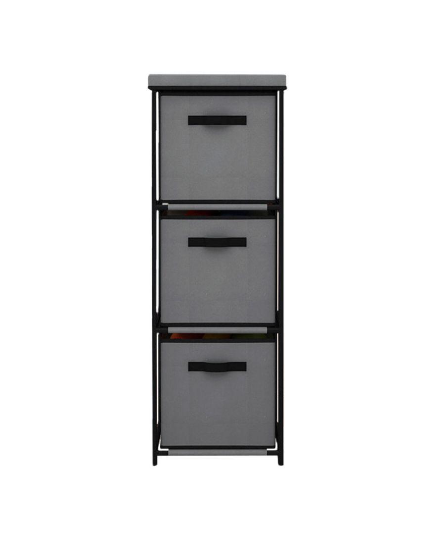 Image for Vertical drawer shelf Grey