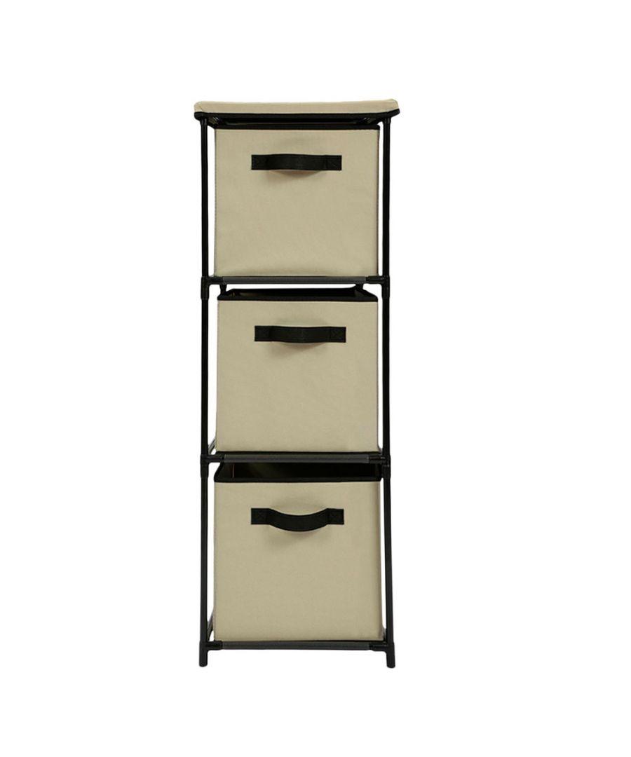 Image for Vertical drawer shelf Beige