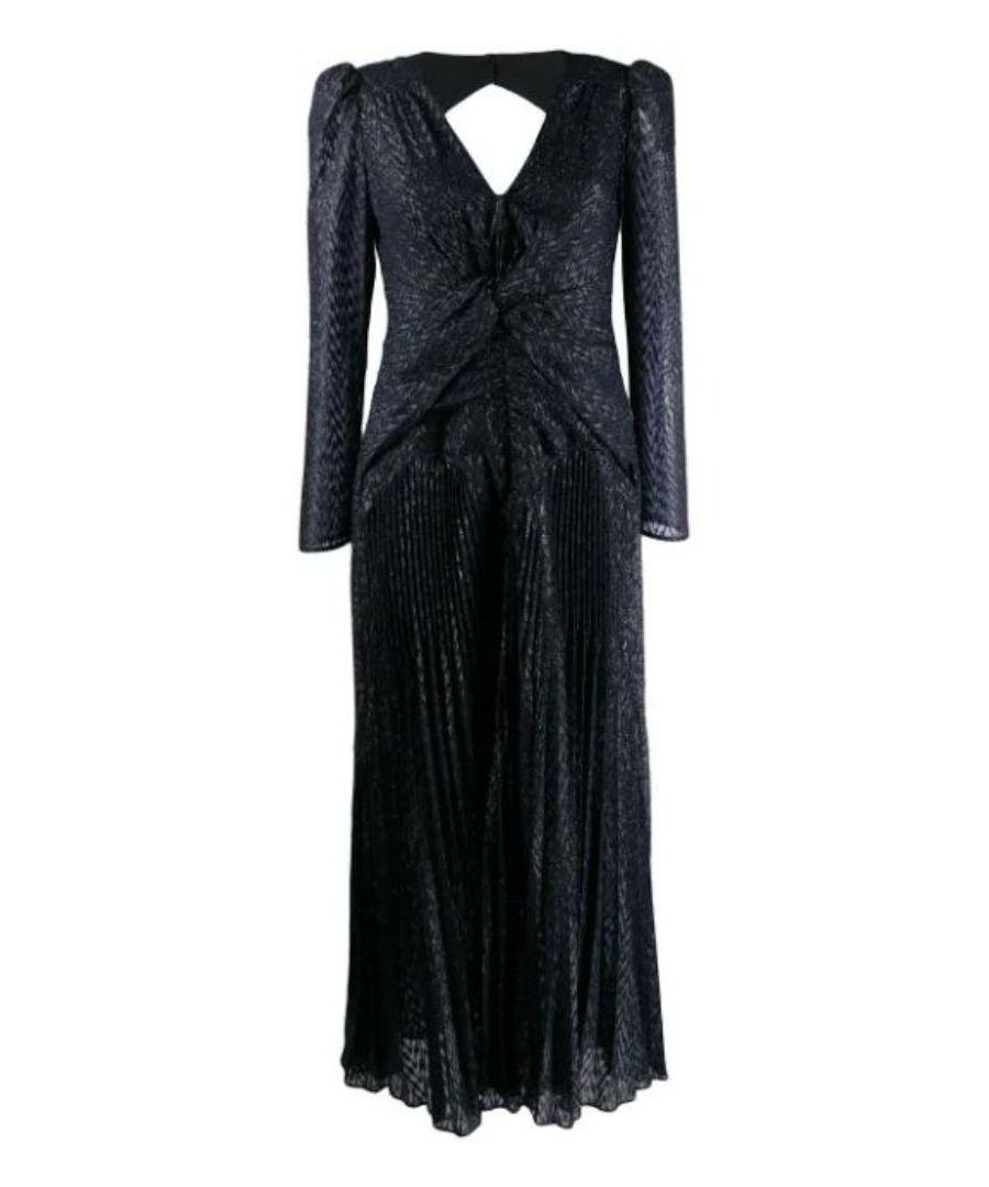 Image for SELF-PORTRAIT WOMEN'S SP23034NAVY BLUE POLYESTER DRESS