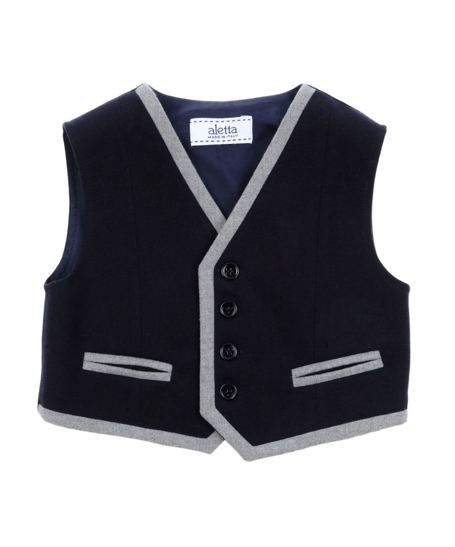 Image for SUITS AND JACKETS Boy Aletta Dark blue Polyester