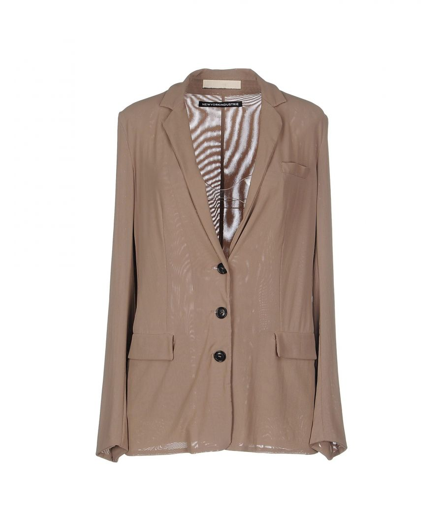 Image for SUITS AND JACKETS New York Industrie Beige Woman Polyamid
