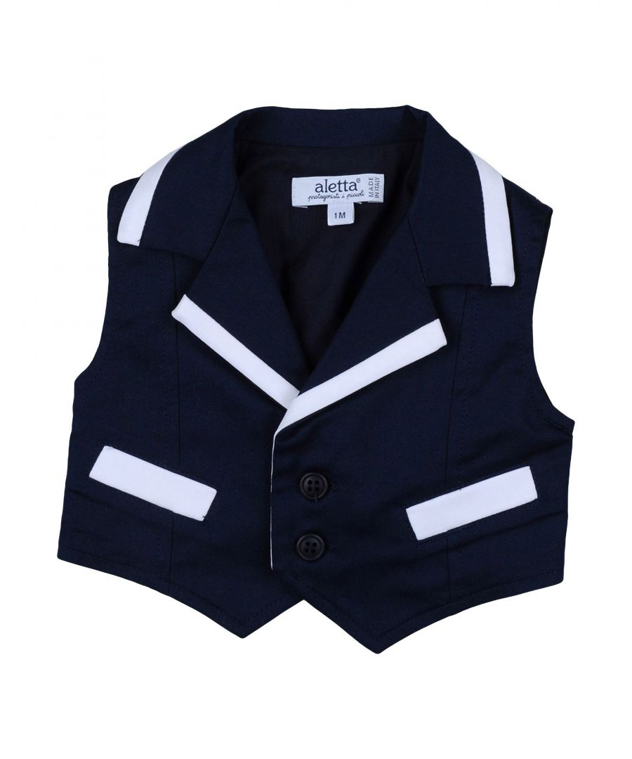 Image for SUITS AND JACKETS Aletta Dark blue Boy Cotton