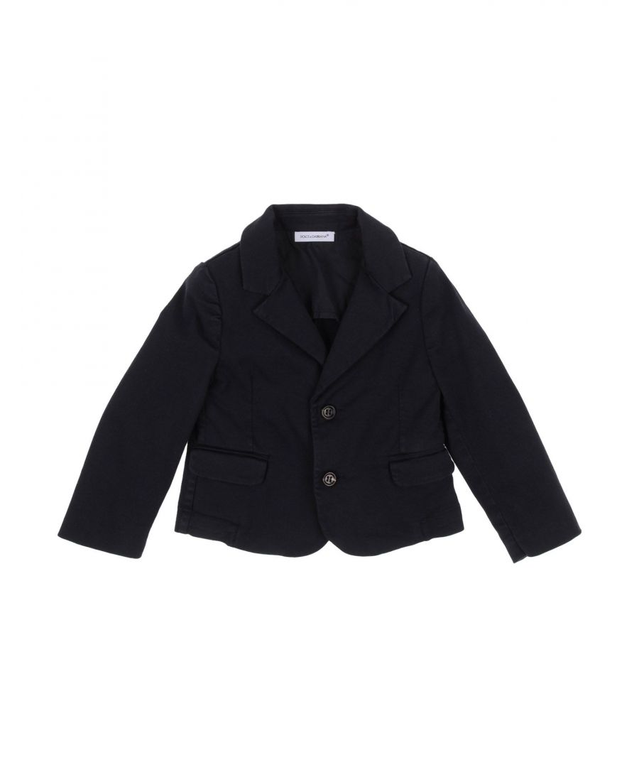 Image for SUITS AND JACKETS Dolce & Gabbana Dark blue Boy Cotton